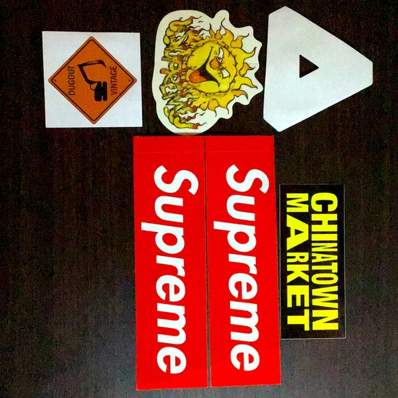 Stickers lot of 6